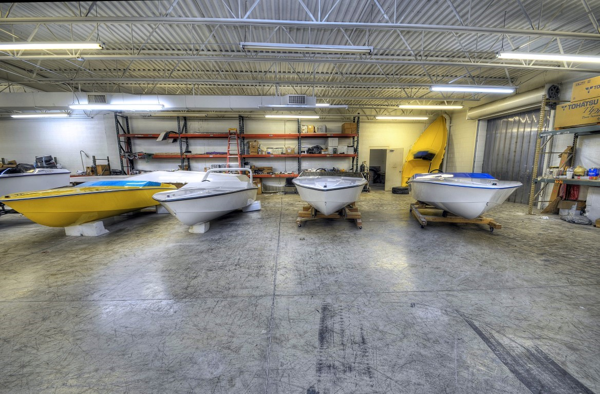X-15 White Boats Warehouse