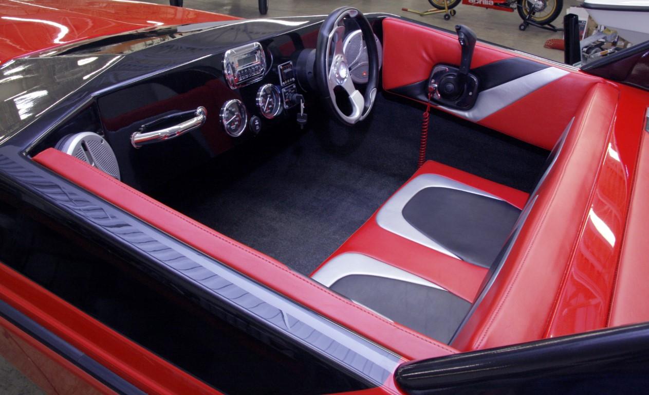 X-15 Red Interior