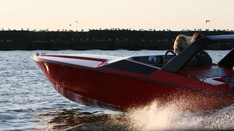 X-15 Red Boat Sunset